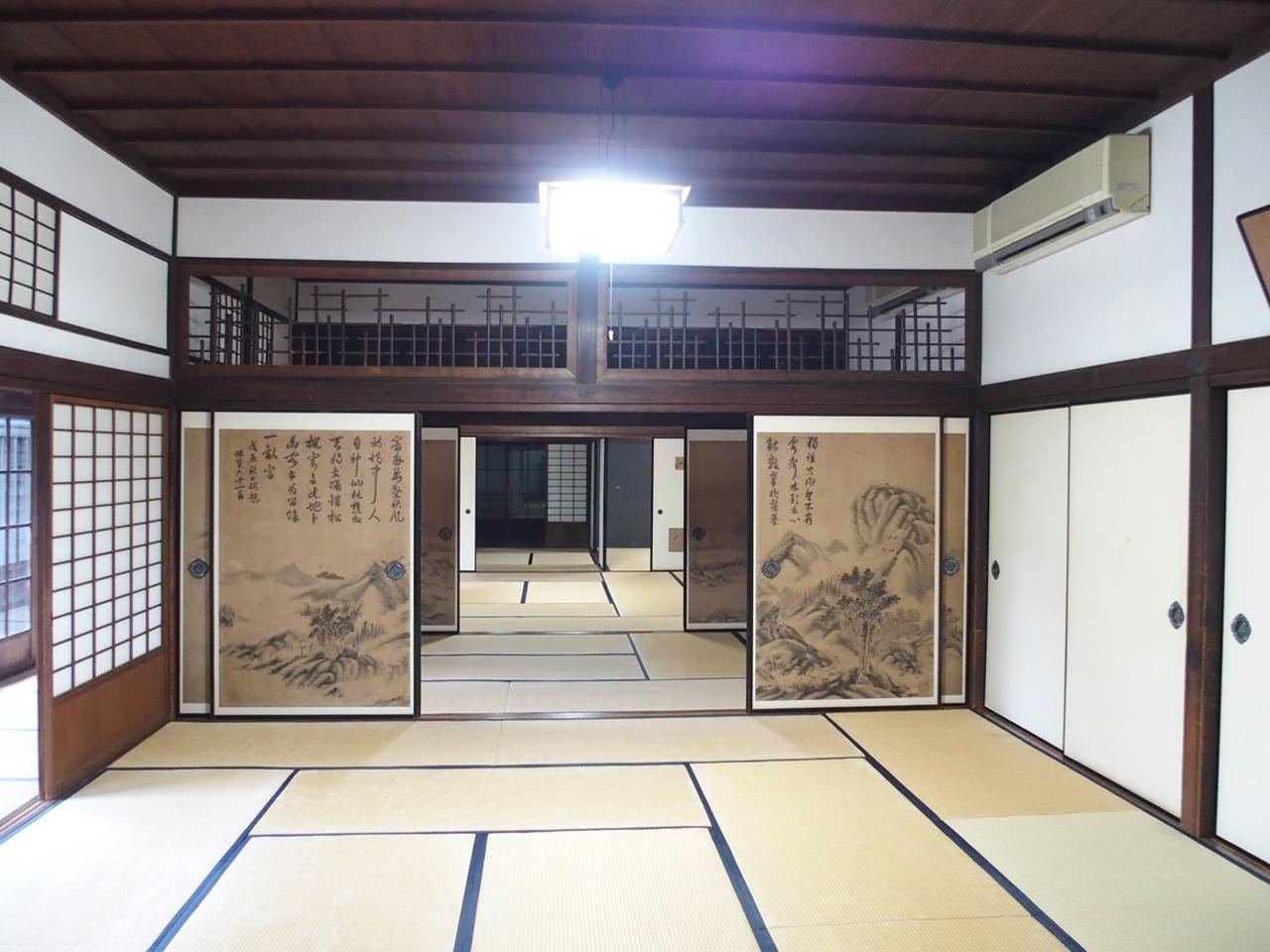 旧古賀家広間
