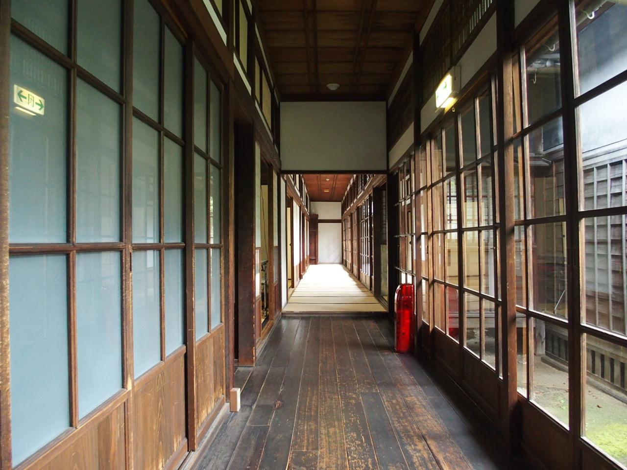 旧古賀住宅廊下