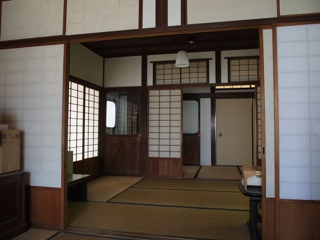 旧福田家室内