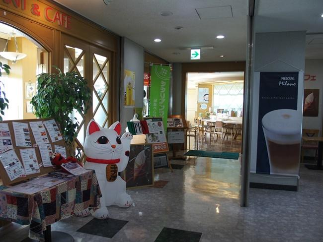佐賀空港レストランフロア
