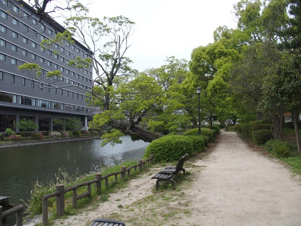 佐賀城のお堀