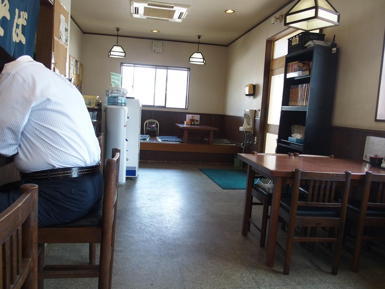 麺処いっしん内部1