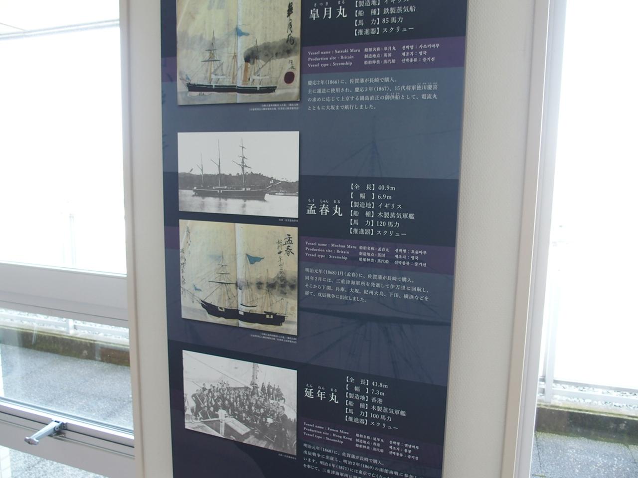 佐賀海軍が所有した船