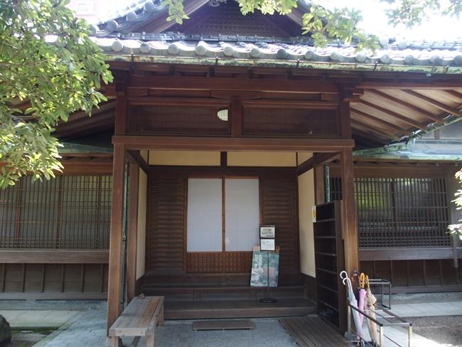 旧福田家玄関