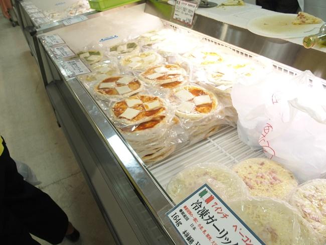 イタリア展ピザ