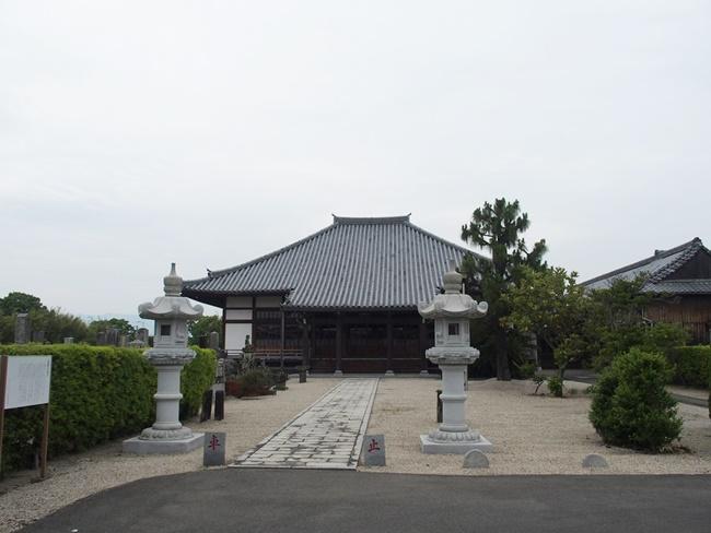 龍雲寺境内
