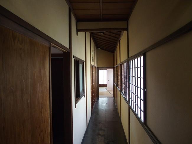 旧福田家廊下