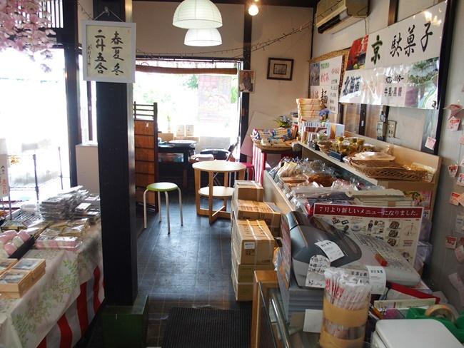 神埼宿場茶屋店内