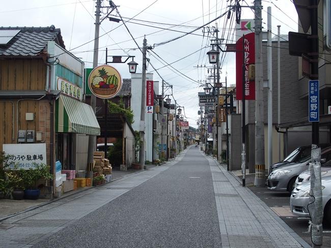 武雄温泉商店街