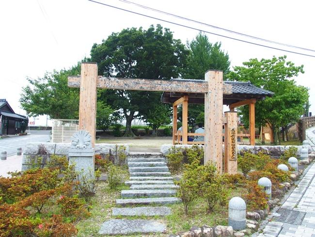 神埼宿西木戸口