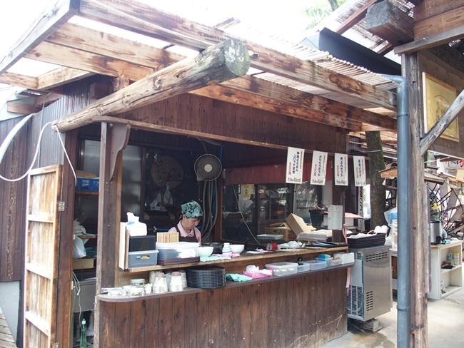 素麺食べる所