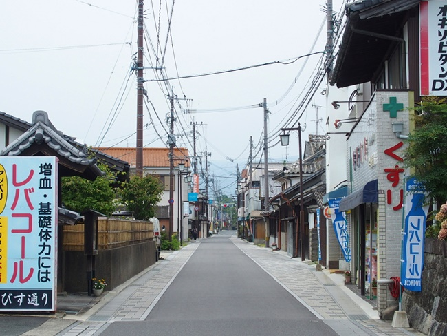 旧長崎街道の様子