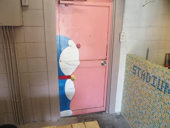 スタジアムバーガーどこでもドア