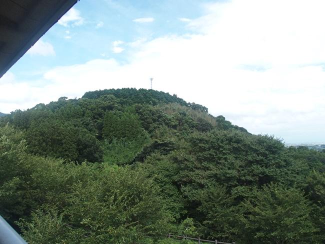 中の山から大の山