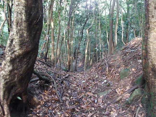 三瀬城跡搦め手口