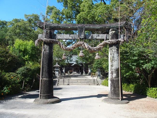 與止姫神社三の鳥居