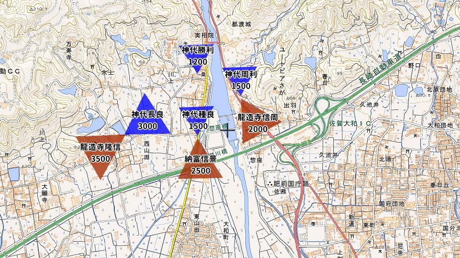 川上峡合戦布陣図2