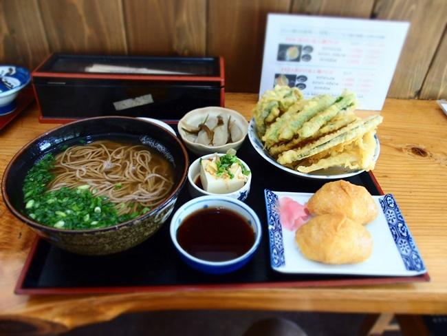 天ぷら野菜そば