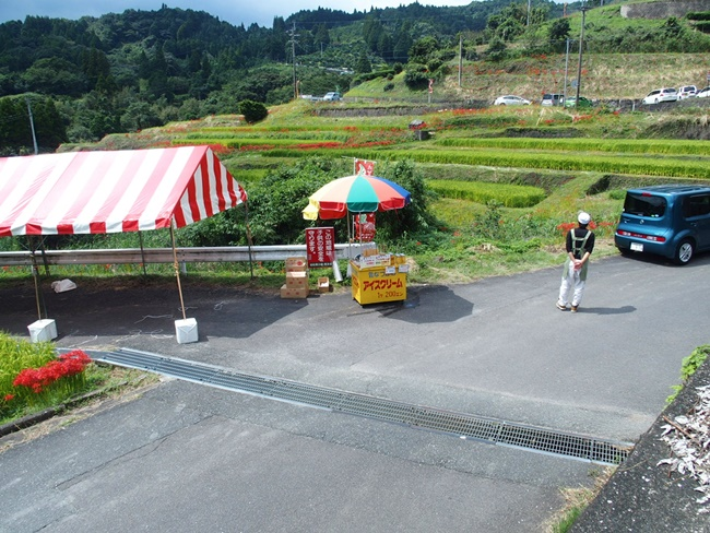 江里山の棚田アイスクリーム