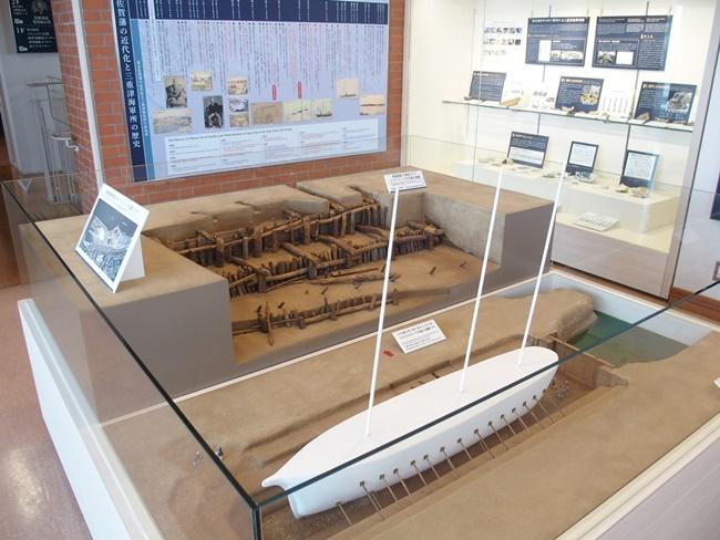 三重津海軍所跡wドック模型