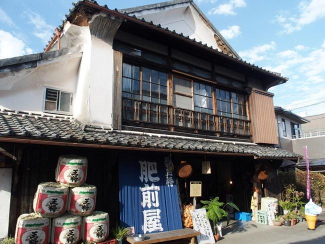 「観光酒造肥前屋」佐賀鹿島の肥前浜宿にある観光酒蔵・・・と思ったら驚きの光景が!