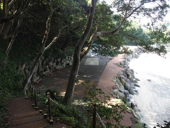 竹崎城跡海