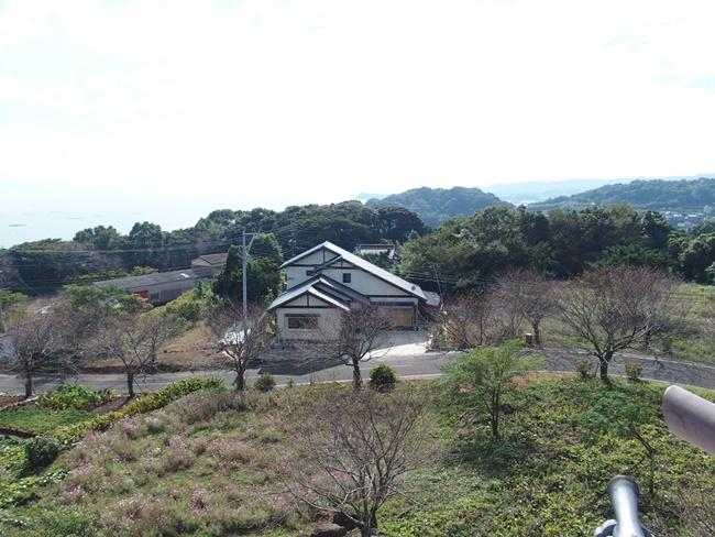 竹崎城跡展望2