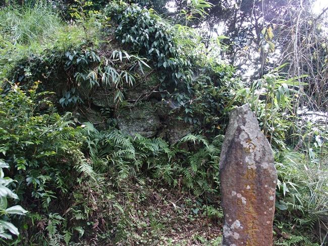 竹崎城跡石積