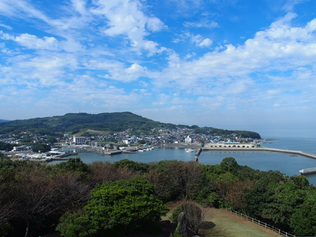 竹崎城跡展望3