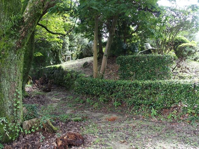 蓮池城跡石垣