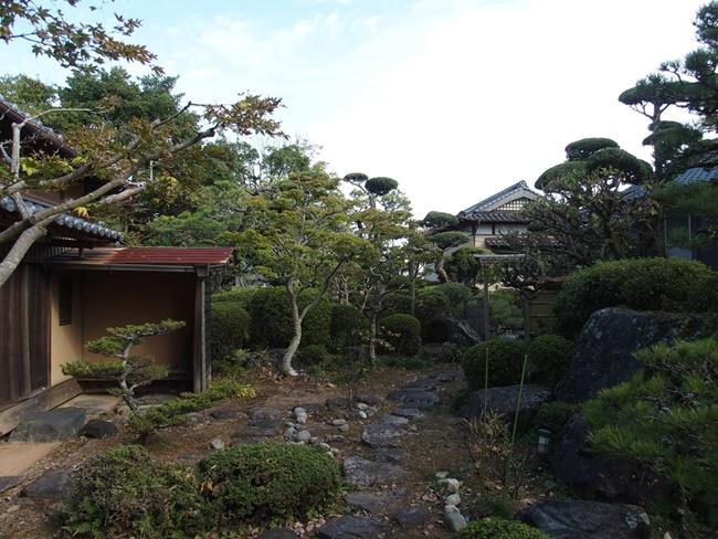 飯盛城跡庭園