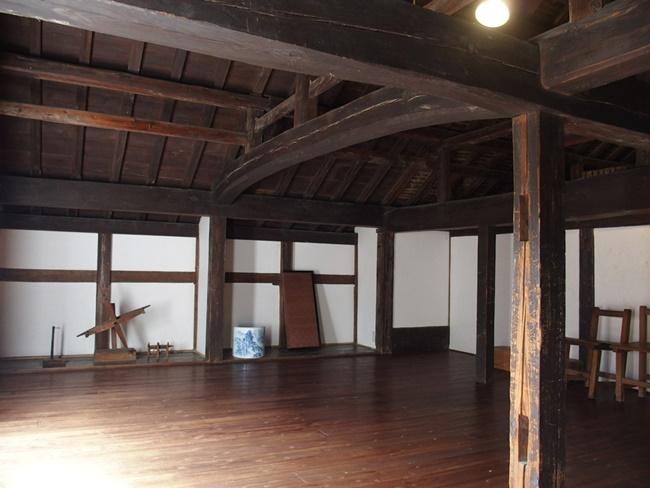 肥前浜宿継場二階部屋内部