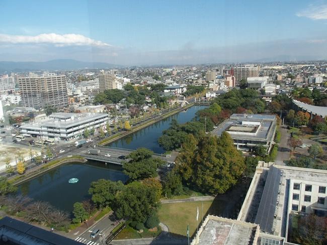 佐賀の街を一望!佐賀のシンボルタワー佐賀県庁新行政棟「展望ホール」眺め最高です。