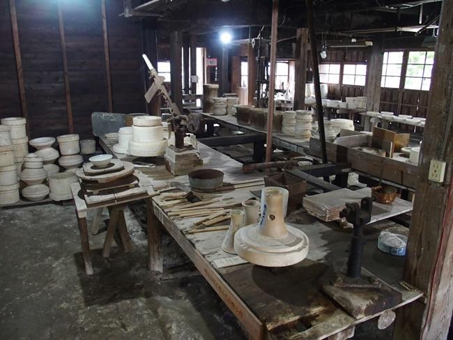 志田焼の里作業場