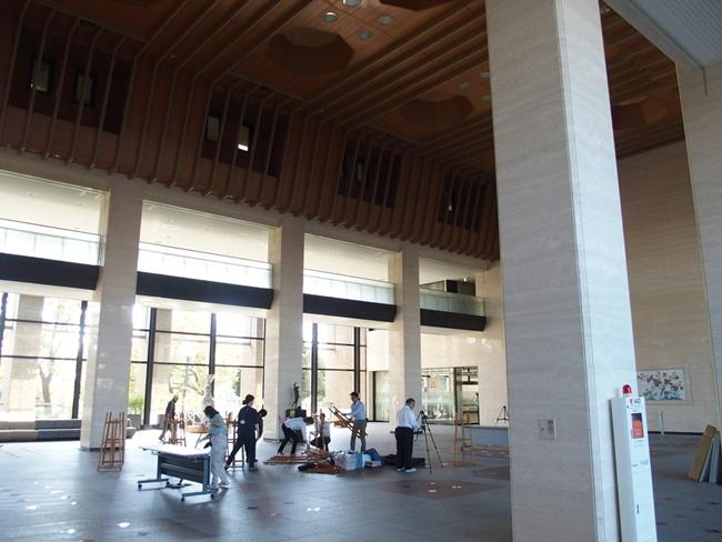 佐賀県庁展望ホール内部