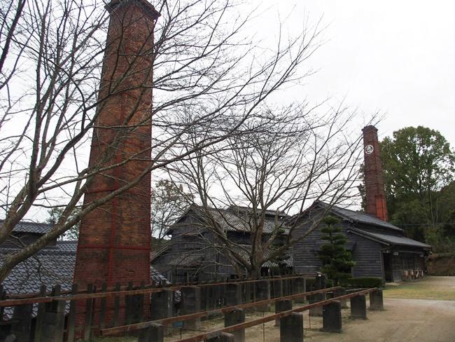 志田焼の里煙突
