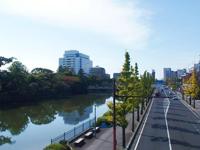 佐賀県庁遠景