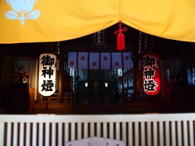 伊万里神社社殿