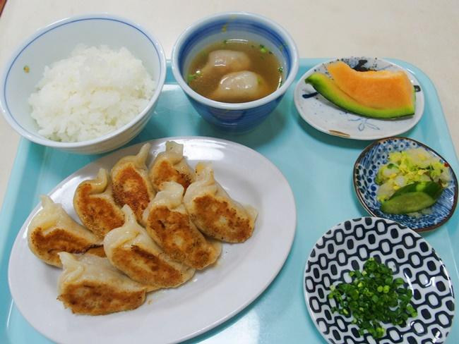 ぎょうざ屋焼き餃子定食82
