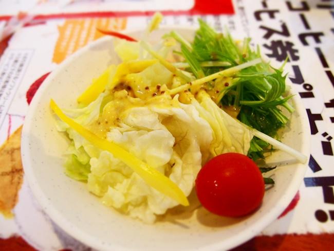 梅の花ほたるサラダ