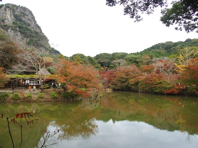 御船山楽園最初の池
