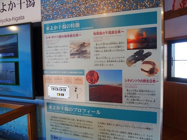 東よか干潟ガイダンスルーム特徴