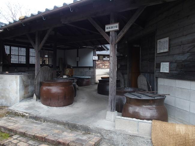 志田焼の里釉薬調合場