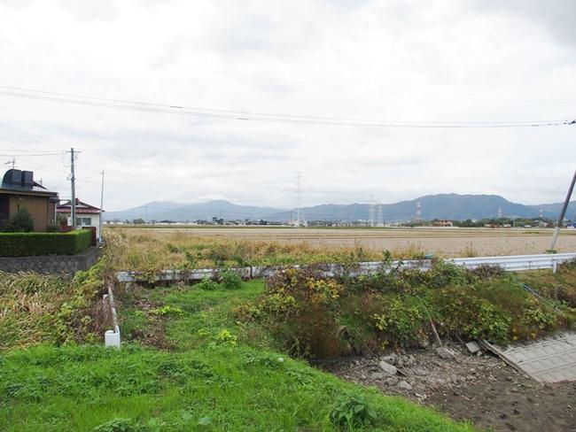 莞牟田姉川城方向