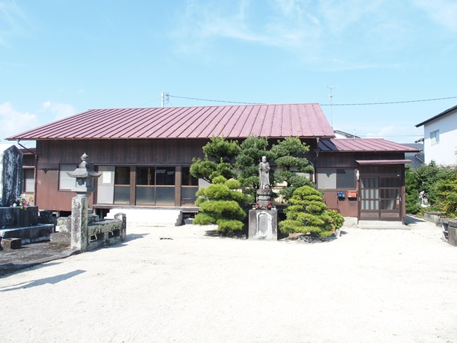 水ヶ江城乾亨院