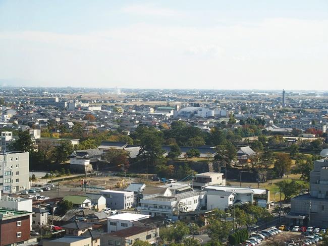 佐賀県庁展望ホール空港方面