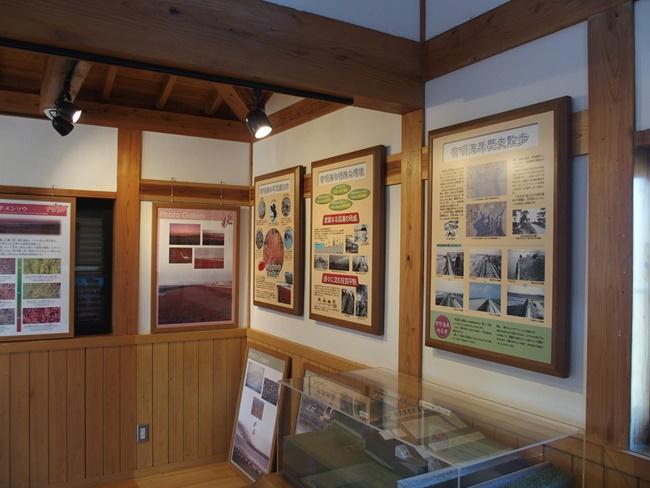 東よか干潟ガイダンスルームパネル展示