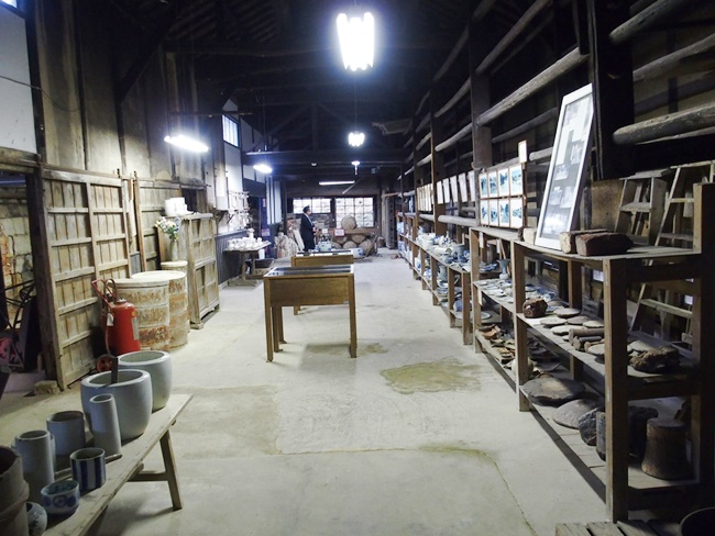 志田焼の里細工場