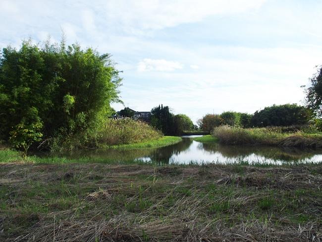 「直鳥城」見事な城跡が残る佐賀神埼市の直鳥クリーク公園。美しすぎる環濠平城跡