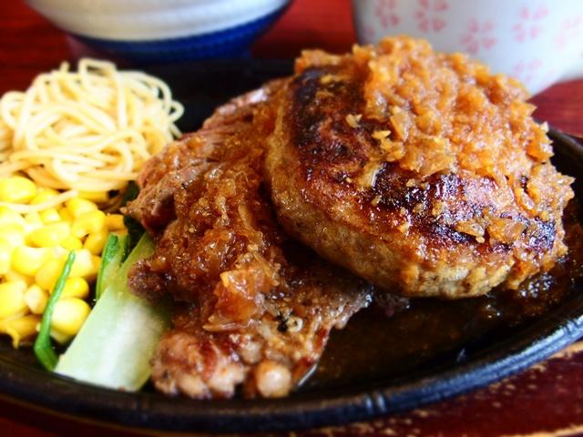 「焼肉花紋」コスパ最高のハンバーグ&ステーキランチ!満足度300%の佐賀ランチ